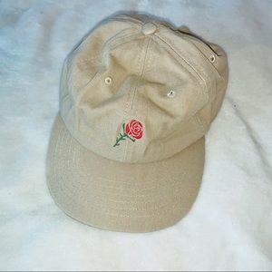 Tan Rose Hat